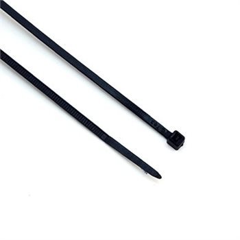 Comus Cable Ties 140mm x 3.6mm Black ?100 Pack CBT002