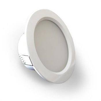Comus LED 4 Inch Downlight 8W 5700K White LEDDOWN457KW  - Click to view a larger image