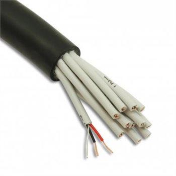 Penn Elcom Câble Micro multipaires 12 Conducteurs AES-EBU Noir pour DMX et Analogique 4007120