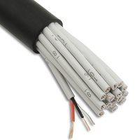 Penn Elcom Câble Micro multipaires 24 Conducteurs AES-EBU Noir pour DMX et Analogique 4007118