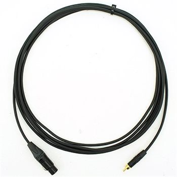 Comus 5m Stealth Series Patch Signal Lead RCA Black - FXLR