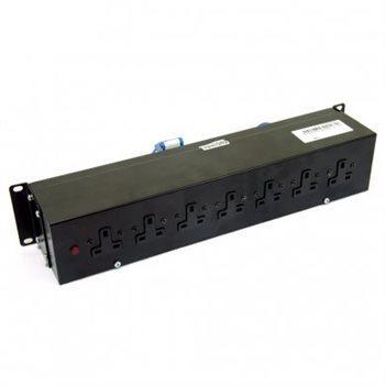 "Penn Elcom 2U 19"" Rack Mount 16amp Distribution Unit with UK sockets PDU9H-HM-(1x16A-8XUK"