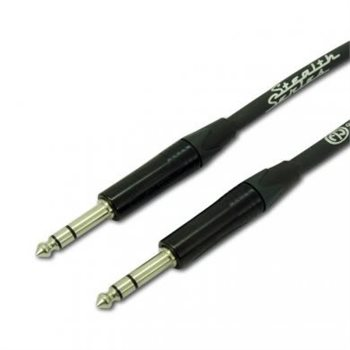 Comus 1M Balanced Line Cable Stealth Series 6.3mm Jack