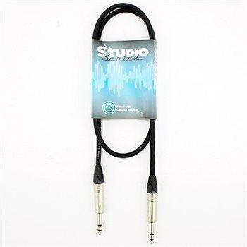 Comus 1M Balanced Line Signal Cable Studio Series Jack - Jack