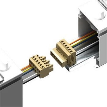Comus LED Linear Light Electrical connector (male to female power) LEDLHBMFC  - Click to view a larger image