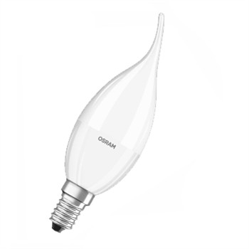 Osram STAR Classic BA 40 5.4W/27K SES Frosted Dim 4052899288645  - Click to view a larger image
