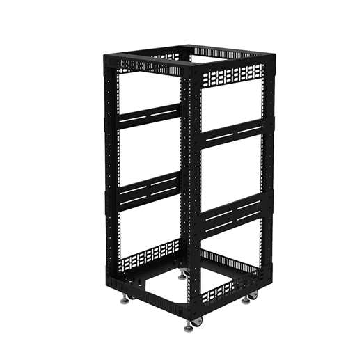 "Penn Elcom 20U Open Tower Rack System 510mm / 20"" Deep R8200-20/20UK  - Click to view a larger image"