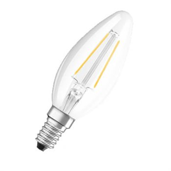 Osram Parathom Classic B 37 3.8W/27K SES Frosted Filament Non Dim 4052899941779  - Click to view a larger image