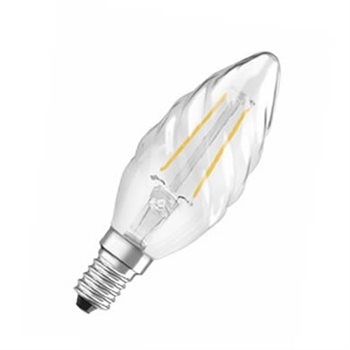 Osram Parathom Classic BW 23 2W/27K SES Clear Filament Non Dim 4052899941793  - Click to view a larger image
