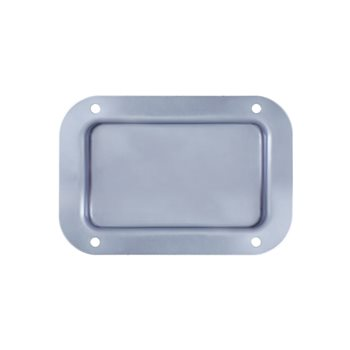 Penn Elcom Recess Dish Plain Zinc 130 x 89mm D0941Z  - Click to view a larger image