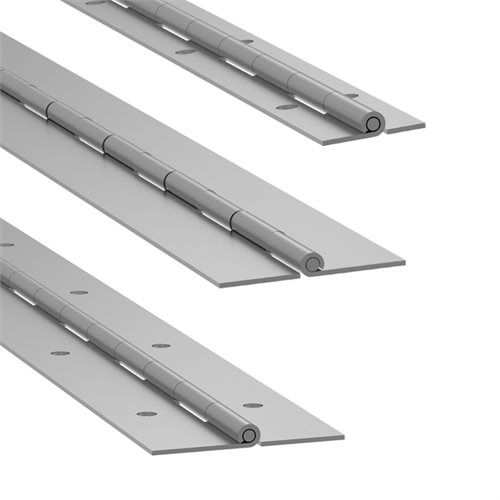 Penn Elcom Piano Hinge  1.8m/6ft Punched P1300P  - Click to view a larger image