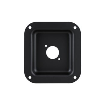 Penn Elcom Recess Dish Punched for 1 x D-Series Connector Black D0949K  - Apasati pentru a vedea o imagine mai mare