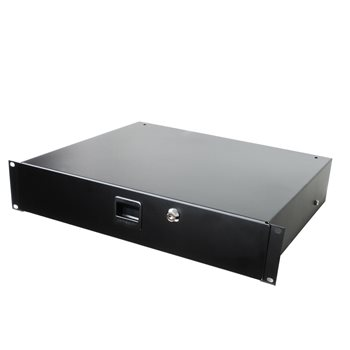 Penn Elcom 2U Rack Drawer with Slam Latch & Key Lock 3232LK  - Click to view a larger image