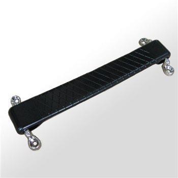 Penn Elcom Designer Black Rubber Strap Handle H0494  - Haga Clic para ver una Imagen más grande