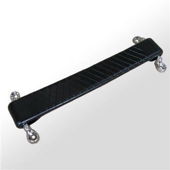 Penn Elcom Designer Black Rubber Strap Handle H0494  - Click to view a larger image