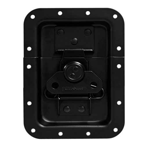 Penn Elcom Large Recessed Butterfly Latch L925/530K  - Click to view a larger image