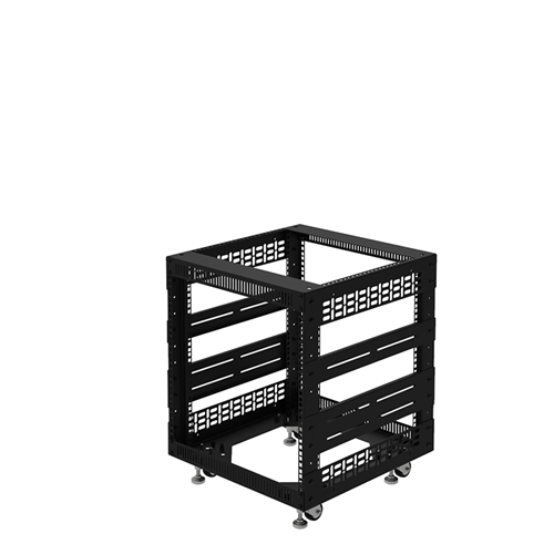 "Penn Elcom 10U Open Tower Rack System 20"" Deep R8200-20/10UK  - Click to view a larger image"