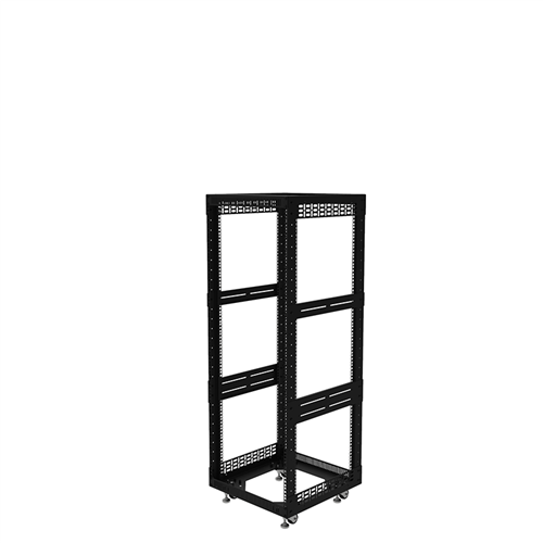 "Penn Elcom 28U Open Tower Rack System 510mm / 20"" Deep R8200-20/28UK  - Click to view a larger image"