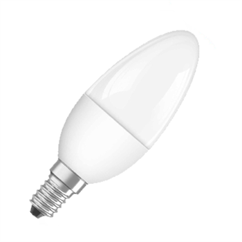 Osram Parathom Classic B 40 6W/27K E14 Frosted Dim 4052899911437  - Click to view a larger image