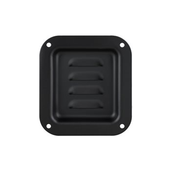 Penn Elcom Black Louvered Dish D0511K  - Haga Clic para ver una Imagen más grande