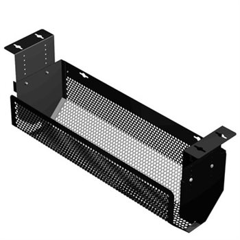 Penn Elcom Adjustable Cable Tray Black CMS-03B  - Click to view a larger image