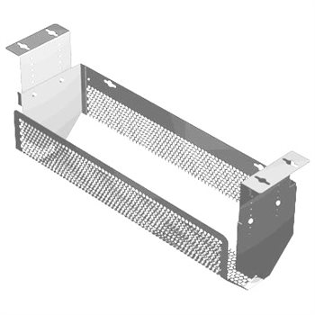 Penn Elcom Adjustable Cable Tray Silver CMS-03S  - Click to view a larger image