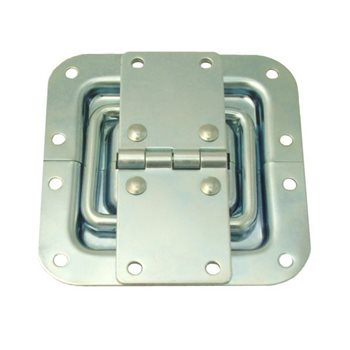 Penn Elcom Hinge With Lid Stay Zinc P2593Z  - Click to view a larger image