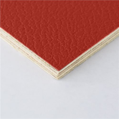 Penn Elcom Rigid Red PVC on 6.5mm Birch M876306  - Click to view a larger image