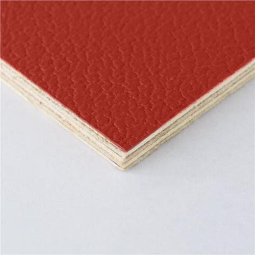 Penn Elcom Penn Elcom Hart-PVC Laminat, 6.5mm, Birke Schichtholz, Rot  - Klicken Sie hier, um ein größeres Bild zu sehen