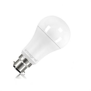 Integral LED Classic A 100 150Deg Dim 14W 27K BC Opal 16-64-64  - Click to view a larger image