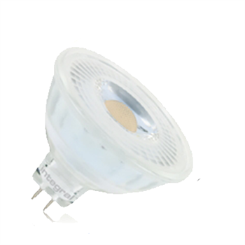 Integral - LED MR16 35 36Deg 5.3 W/827 GU5.3 12V Non Dim Glass 12-07-90