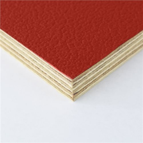 Penn Elcom Rigid Red PVC On 12mm Birch M876312  - Click to view a larger image