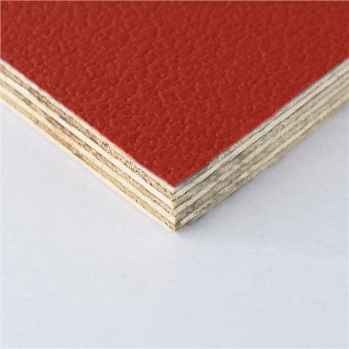 Penn Elcom Rigid Red PVC On 9mm Birch M876309  - Click to view a larger image