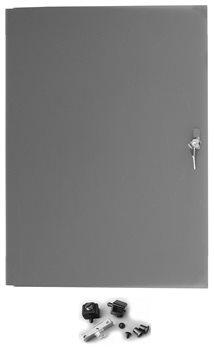 Penn Elcom 8U Full Width Locking Credenza PlexiGlass Door Tinted R8600-CZD8-FW  - Нажмите, чтобы посмотреть увеличенное изображение