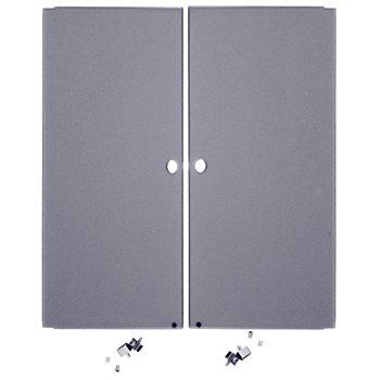 Penn Elcom 8U Smoked Credenza PlexiGlass Doors R8600-CZD8S  - Haga Clic para ver una Imagen más grande