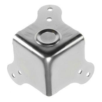 Penn Elcom Coin Plat Empilable Femelle Zinc Alvéolé C1860Z  - Cliquez pour agrandir limage