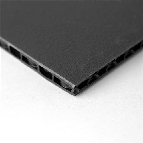 "Penn Elcom FLight Panel 7'7"" x 5'2"" Black Composite Panel - Thickness: 7mm (1/4"") M865007  - Click to view a larger image"