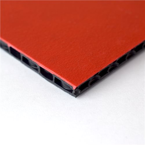"Penn Elcom FLight Panel 7'7"" x 5'2"" Red Composite Panel - Thickness: 7mm (1/4"") M865307  - Click to view a larger image"