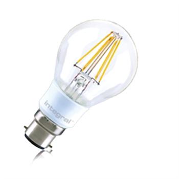 Integral LED Classic A 40 330Deg Filament-style Omni-Lamp 4.5W 27K B22 Dim ILGLSB22DC035