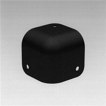 Penn Elcom Cabinet Corner Black C1835K  - Click to view a larger image