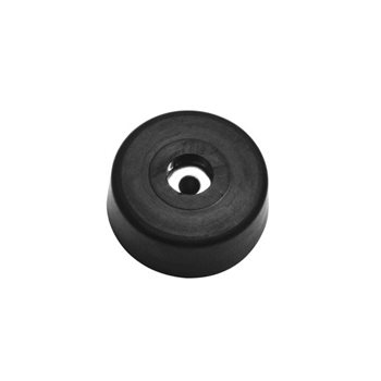 Penn Elcom Large Rubber Foot With Steel Washer 40mm x 15.5mm F1686  - Click to view a larger image