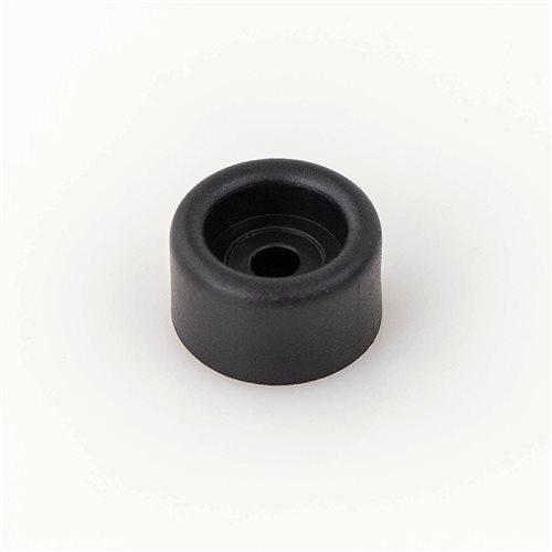 "4 Piece Penn-Elcom Black Rubber Cabinet Foot 1/"" x 9//16/"""