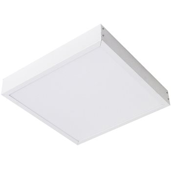 Comus LED Surface mounting frame in white for panels LEDPANSMFW  - Click to view a larger image