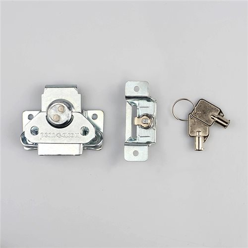 Penn Elcom Medium Butterfly Surface Latch Key Lock L0927Z  - Click to view a larger image