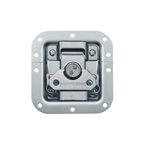 Penn Elcom Medium MOL® Recessed Butterfly Latch Shallow L905/928/10  - Click to view a larger image
