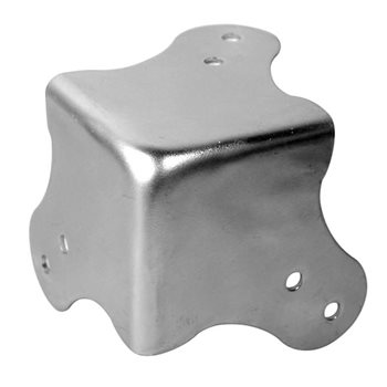 Penn Elcom 6 Hole Flat Corner Zinc 1031  - Click to view a larger image