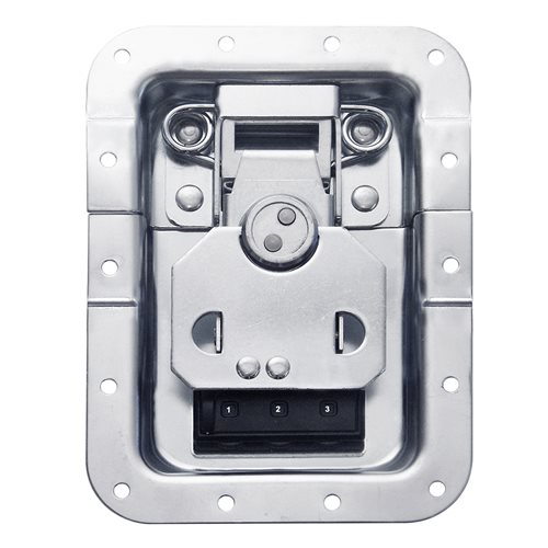 Penn Elcom Large Recessed Latch Twist Key Combination Lock Offset L924/527/CL  - Clique para visualizar a imagem ampliada