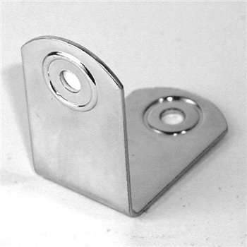 Penn Elcom Small Brace 2 Hole With Rivet Protectors 1707  - Click to view a larger image