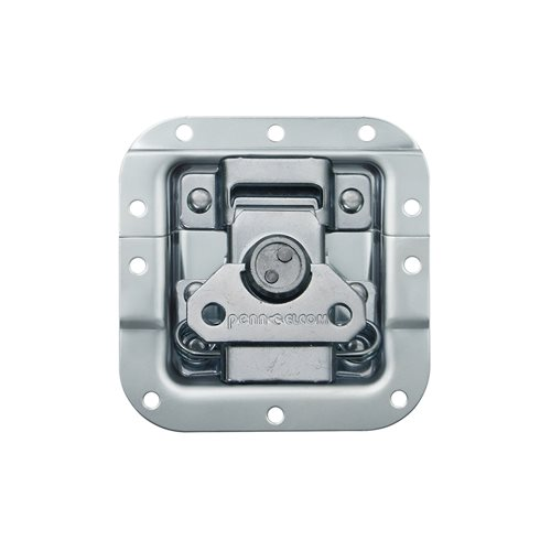 Penn Elcom Medium MOL® Recessed Butterfly Latch Offset L907/928  - Click to view a larger image