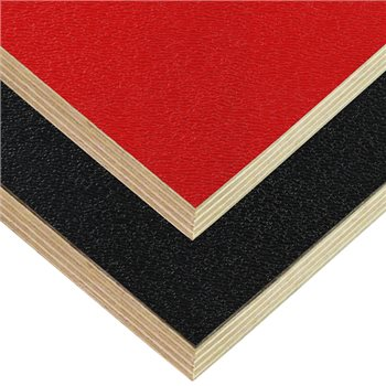 "Penn Elcom 8x4' Black Laminated Plywood Panel - Thickness: 12mm (1/2"") M842113CB  - Click to view a larger image"